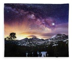 Mountain Dreams Fleece Blanket