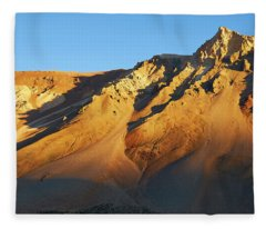 Fleece Blanket featuring the photograph Mountain Gold by Whitney Goodey