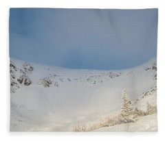 Mountain Light, Tuckerman Ravine Fleece Blanket