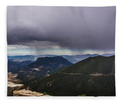 Mountain Rain Fleece Blanket
