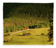 Mountain Ranch Fleece Blanket