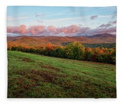 Mountain View Fleece Blanket