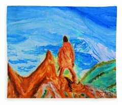 Mountain Vista Fleece Blanket