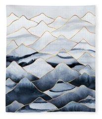 Mountains Fleece Blanket