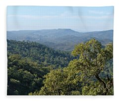 Mountains Of Loule. Serra Do Caldeirao Fleece Blanket