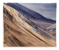 Fleece Blanket featuring the photograph Mountainside by Whitney Goodey