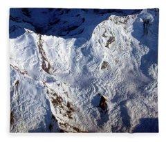 Mountaintop Snow Fleece Blanket