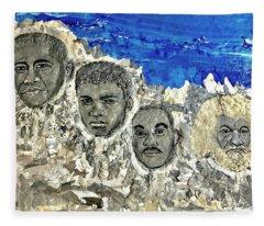 Mt. Freedom Fleece Blanket