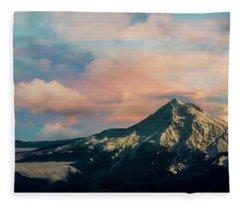 Mt Hood Fleece Blanket