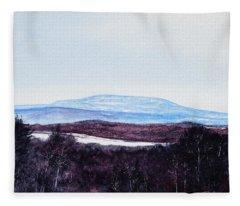 Mt. Wachusett Fleece Blanket