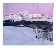 Mt Wilson Fleece Blanket
