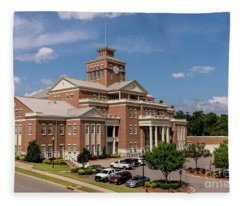Municipal Building - North Augusta Sc Fleece Blanket