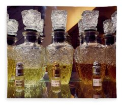 Fleece Blanket featuring the photograph Musk by Whitney Goodey