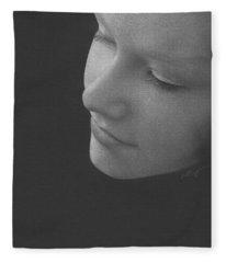 Muted Shadow No. 9 Fleece Blanket