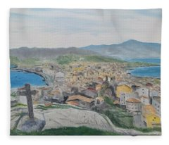 Muxia Fleece Blanket