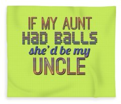 My Aunt Fleece Blanket