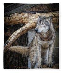 My Favorite Pose Fleece Blanket