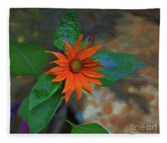 My Little Sunflower Fleece Blanket