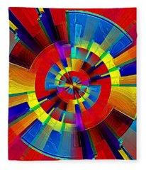 My Radar In Color Fleece Blanket