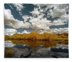 Myakka State Park In Florida  Fleece Blanket