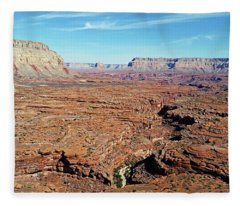 Mysterious Havasupai Canyon Fleece Blanket