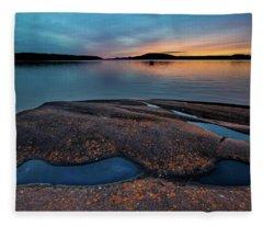 Mystic Pools Fleece Blanket