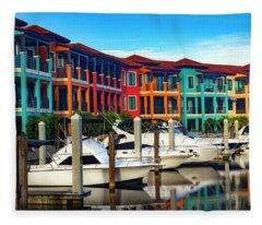 Naples Florida Series 9199 Fleece Blanket