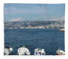 Naples Port Fleece Blanket