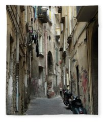 Naples Street Fleece Blanket