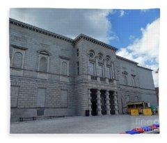 National Gallery Of Ireland Fleece Blanket