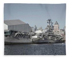 National Historic Landmark Journey Of A Lifetime Fleece Blanket