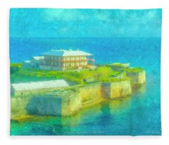 National Museum Of Bermuda Fleece Blanket