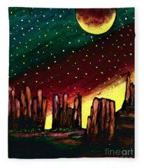 Native Sun  Fleece Blanket
