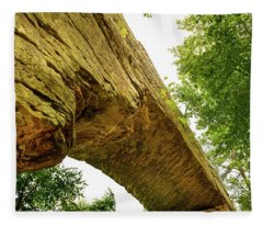 Natural Bridge 4 Fleece Blanket