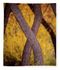 Nature's Font Fleece Blanket