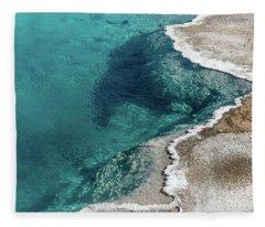 Nature's Hot Tub Fleece Blanket