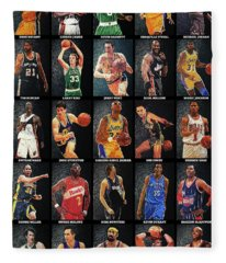 Nba Legends Fleece Blanket