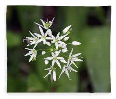 Neston. Wild Garlic. Fleece Blanket