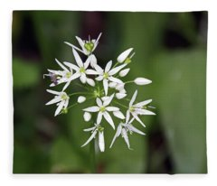 Neston. Wild Garlic. Fleece Blanket
