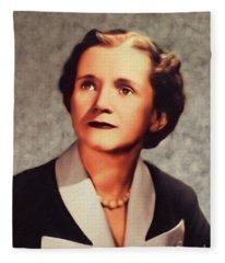 Nettie Stevens, Famous Scientist Fleece Blanket