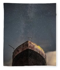 New Life Milkway  Fleece Blanket