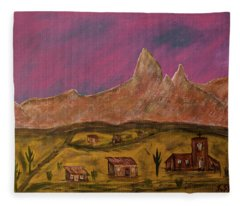 New Mexico True Fleece Blanket