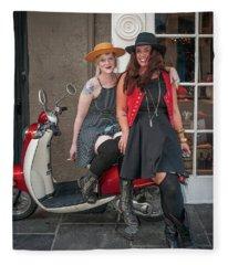 New Orleans Hat Shop Girls Fleece Blanket
