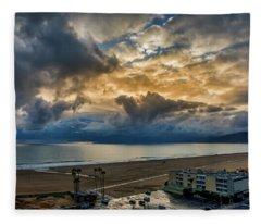 New Sky After The Rain Fleece Blanket