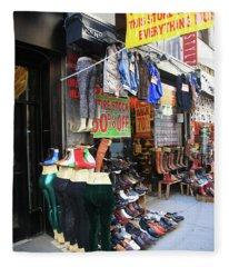 New York City Shoe Shop 2013 Fleece Blanket