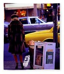 New York Mink Fleece Blanket