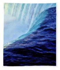 Niagara Falls Fleece Blanket