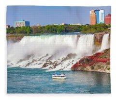Niagara Falls Series 9303 Fleece Blanket