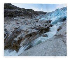 Nigardsbreen, Norway Fleece Blanket