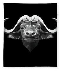 Night Buffalo Fleece Blanket